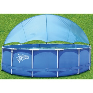 Summer escapes universal canopy for 14 39 16 39 frame pool - How do i keep ducks out of my swimming pool ...