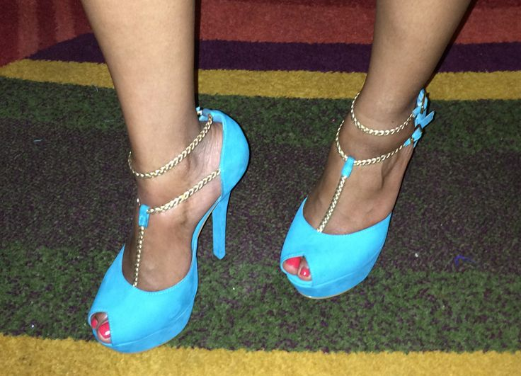 Shoes - blue and sexy