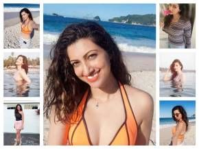 hamsa nandini beach holiday photos
