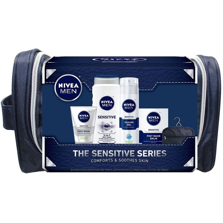 Amazon: NIVEA Men 4 Piece Sensitive Collection Gift Set Only $11.25
