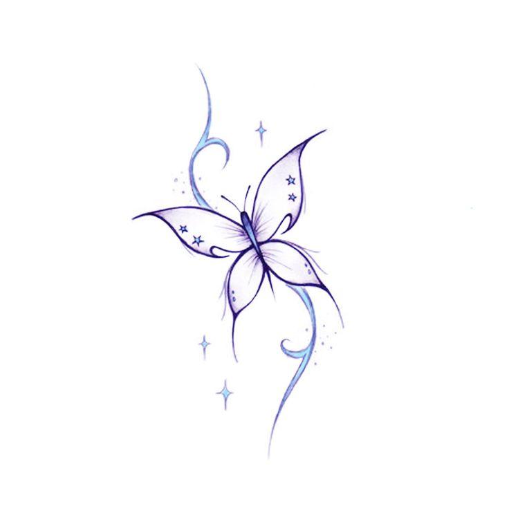 dibujo de mariposas para tatuajes - Buscar con Google