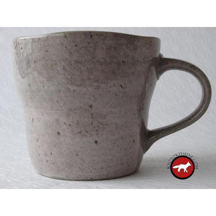Véritable tasse Japonaise fabriquée au Japon à découvrir sur notre boutique japonaise en ligne Kyoto Kitsune Shop
