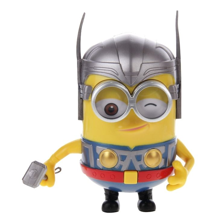 Cartoon Action Figure - Despicable Me - The Thor - Minions Model