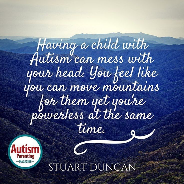 "Great one from Stuart Duncan Double tap if you agree Get a FREE issue of Autism Parenting Magazine Just follow us on Instagram: @AutismParentingMagazine Turn on ""Post Notifications"" so you don't miss out on the contents we're sharing. Link on our profile"