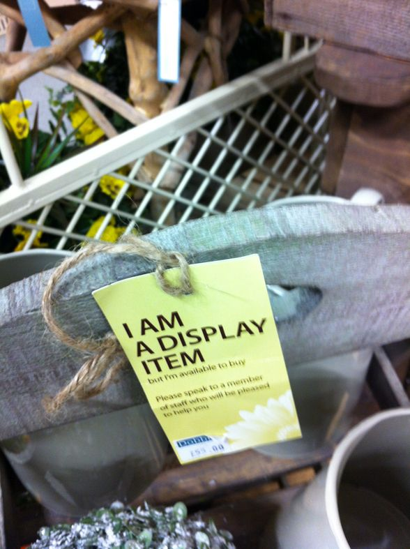 We Love This Very Simple Piece Of Point Of Sale Being Used At Dobbies Garden  Centre. Nothing Seems To Attract Customer Interest Like A Display Item That  Is
