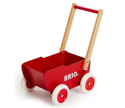 Dukkevogn / gåvogn i tre fra BRIO