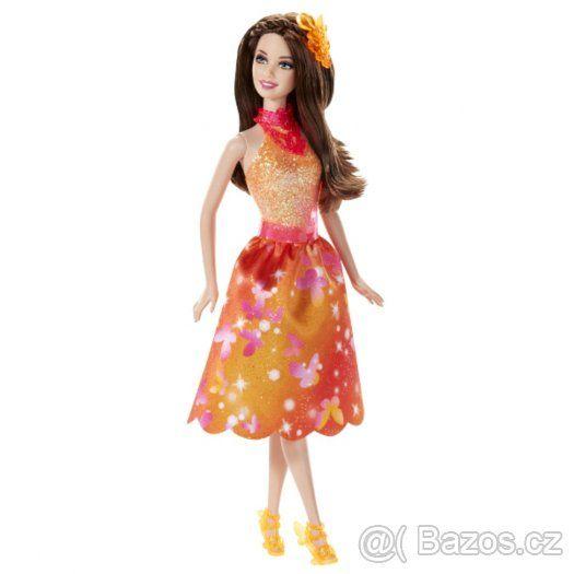 Barbie - Kouzelná dvířka kamarádky mořské víly (oranžová) - 1