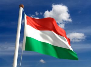 Do you know what Hungary's flag looks like? This tricolor flag symbolizes values important to Hungary's nationhood.: Flag of Hungary