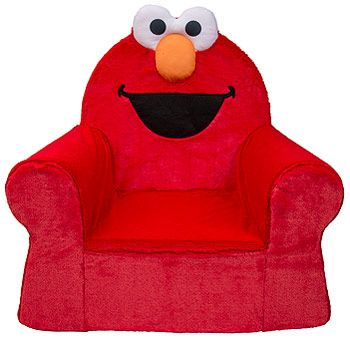 There's nothing softer, nothing sweeter and nothing cozier than your very own Comfy Chair from Marshmallow! Designed for children aged 18 months and up, the Marshmallow Comfy Chair offers a comfortable place to play, watch a favorite TV show or just kick back in a toddler-sized seat. <br>With multiple licensed characters like Sesame Street's Elmo, Cookie Monster, Mickey and Minnie Mouse, or Thomas and Friends there's something for everyone!   Each chair offers a wider base for greater…