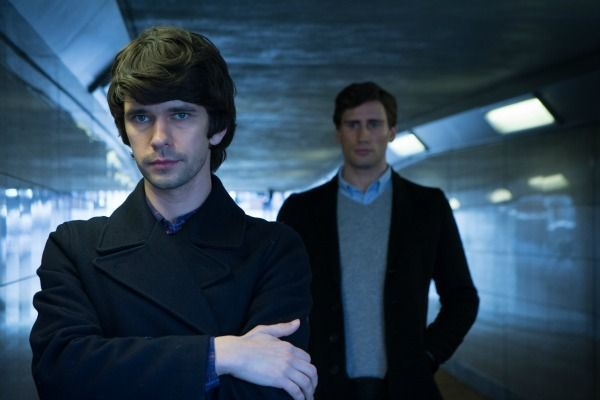 "London Spy BBC  http://www.refinery29.com/2013/12/59820/best-british-tv-shows#slide-8  London Spy Consider this one of the sexiest spy thrillers of all time. Ben Whishaw stars as Danny, the boyfriend of the mysterious Alex, played by your future crush Edward Holcroft. Part love story, part whodunit, this drama is ideal for anyone who fancies an agonizing cliffhanger and a steamy sex scene. Watch it on <a href=""http://www.bbcamerica.com/shows/lo..."