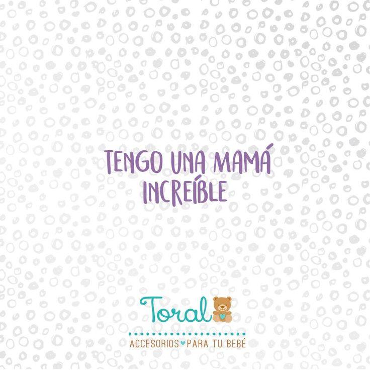 ¡Un like si estás de acuerdo!   Porque como tú ninguna. Toral ¡le damos la bienvenida a la vida! www.bebetoral.com