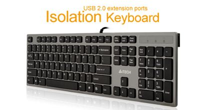 Great full-sized chiclet keyboard