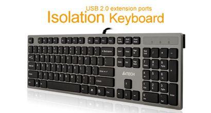 Great full-sized chiclet keyboard