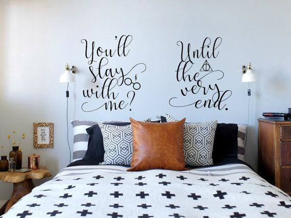 Harry Potter Until The Very End Quote Quora: Best 25+ Harry Potter Bedroom Ideas On Pinterest