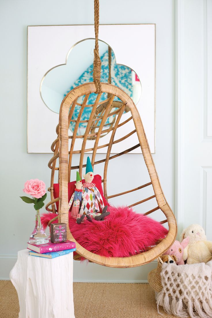 kids hanging chair for bedroom%0A Kid u    s room reading nook