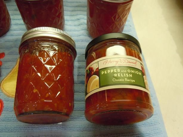 Harry And Davids Sweet And Hot Pepper And Onion Relish Clone Recipe - Food.com - 250730