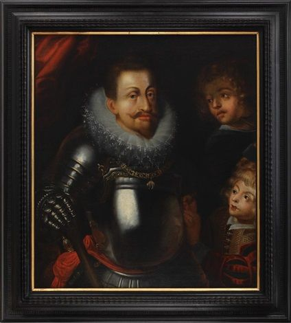 Portrait of the Roman Emperor and Czech King Ferdinand II by Justus Sustermans