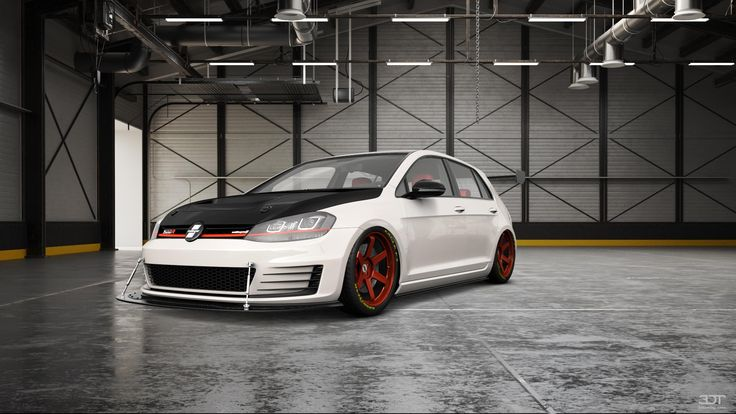 Checkout my tuning #Volkswagen #Golf7 2013 at 3DTuning #3dtuning #tuning
