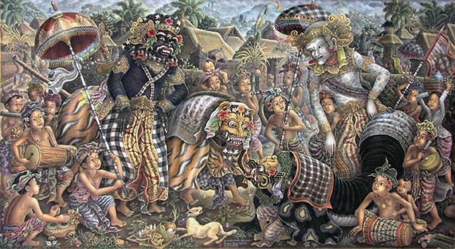 Museum Puri Lukisan Yayasan Ratna Wartha, Ubud, Indonesia