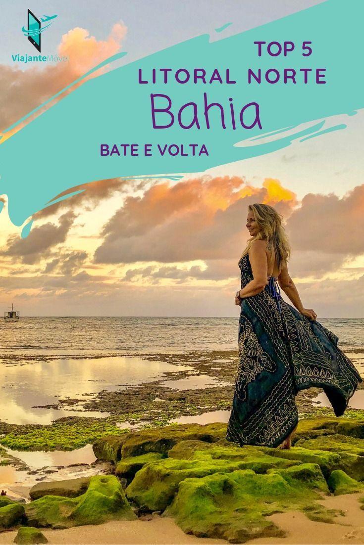 Litoral Norte Da Bahia Cinco Praias Para Bate E Volta Litoral