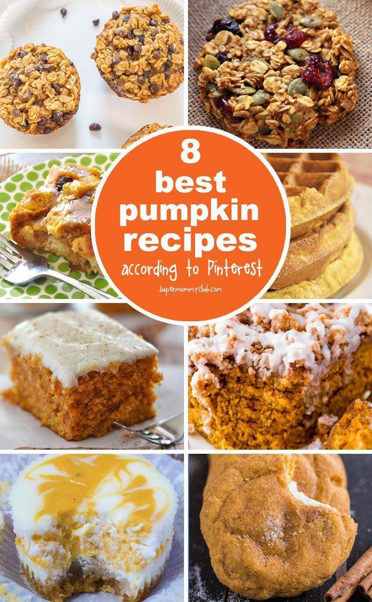 Best pumpkin recipes according to Pinterest
