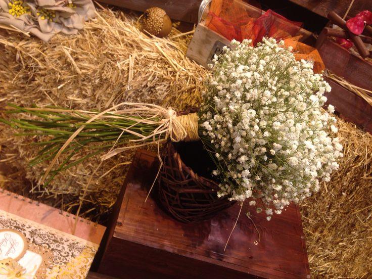 Ramo de novia compuesto por paniculata #iglesiasfloristeria