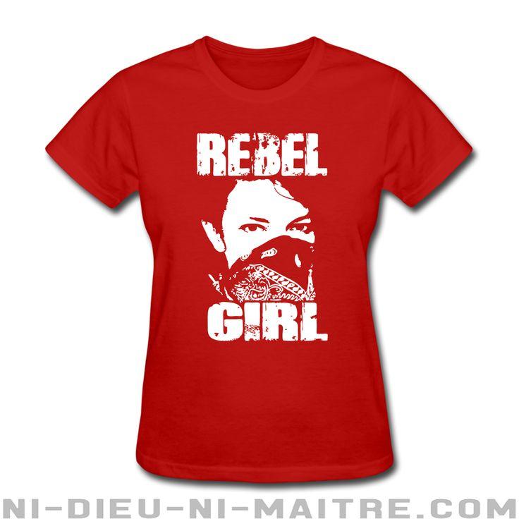 T-shirt pour femme Rebel girl - Féminisme