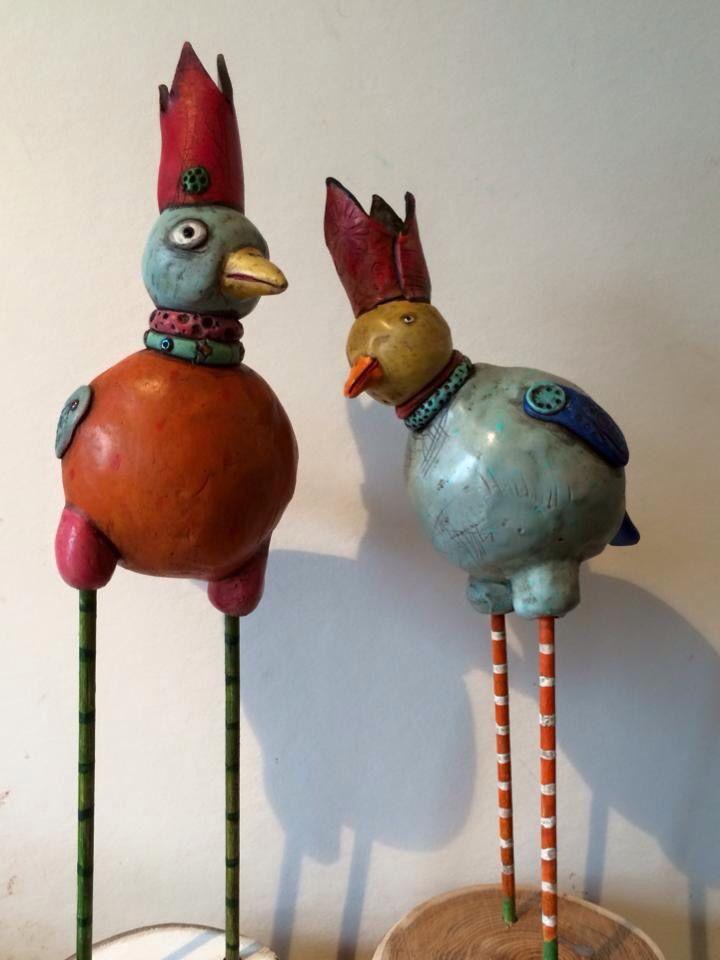 Polymer clay sculptures by Mary-Lynne Moffatt Art