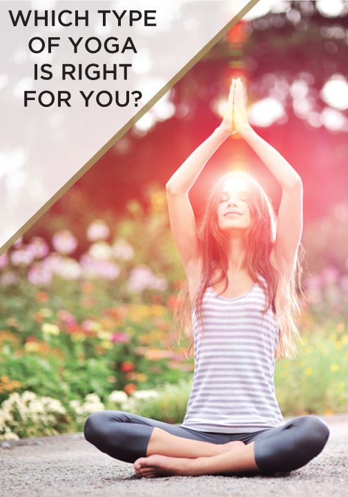 Every body is different – find out which type of yoga is best suited for you.