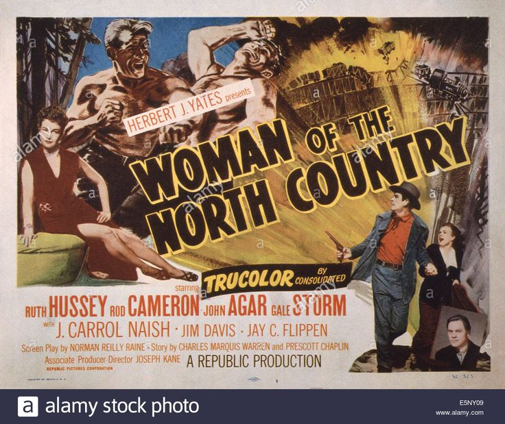 WOMAN OF THE NORTH COUNTRY, US lobbycard, far left: Ruth Hussey Stock Photo, Royalty Free Image: 72396921 - Alamy