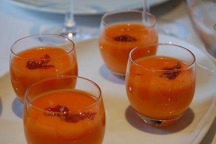 Receta de #gazpacho andaluz casero