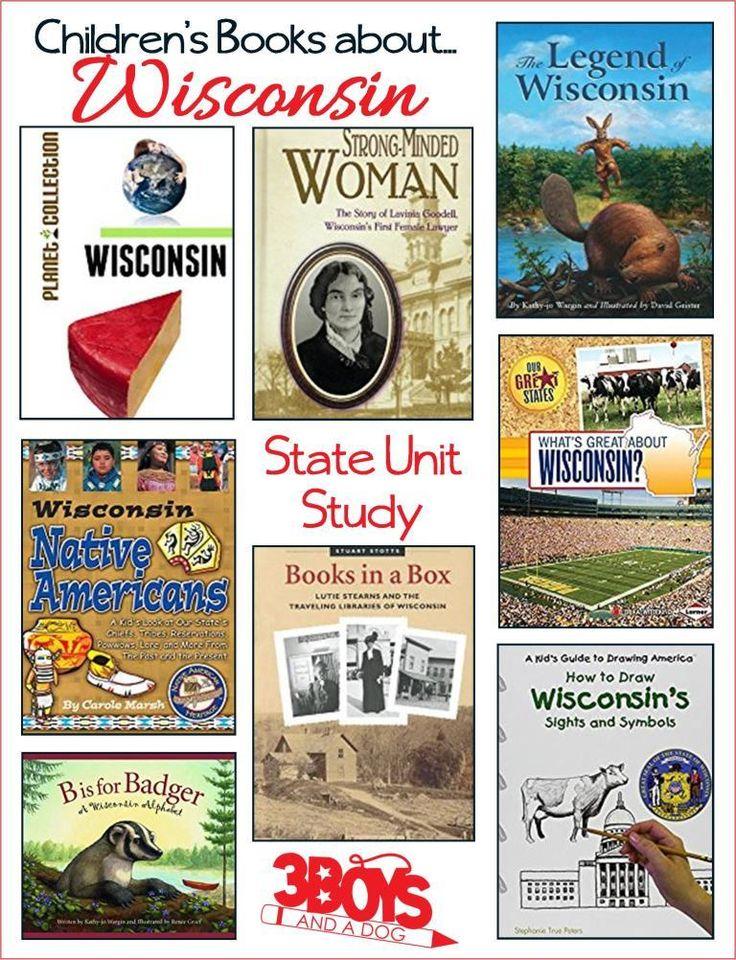 Children's Books About Wisconsin