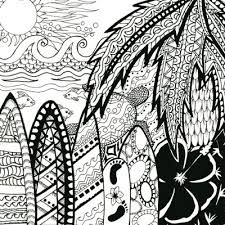 Zentangle Palm Trees And Palms On Pinterest