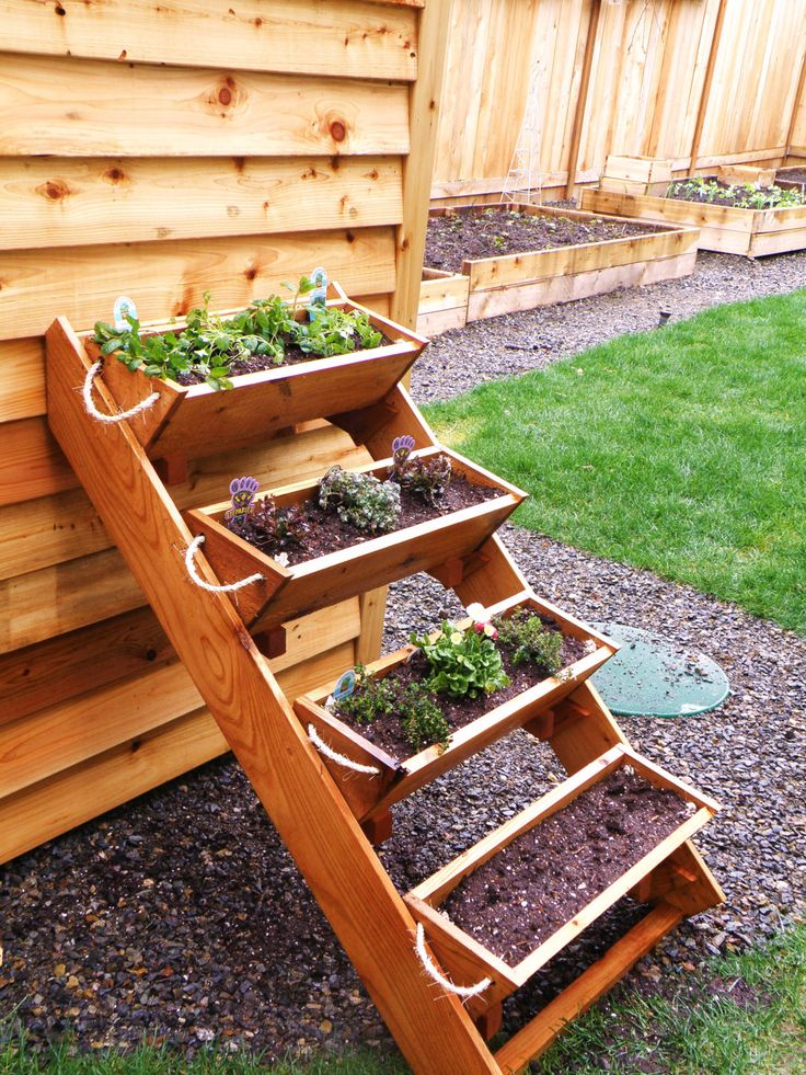 Free Standing Planter Boxes - WoodWorking Projects & Plans