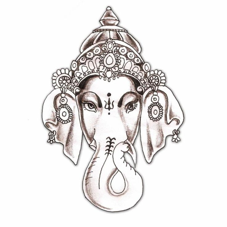 25+ Best Ideas About Ganesha Tattoo On Pinterest