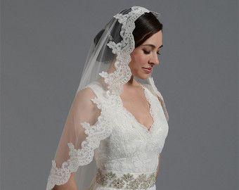 velo de novia velo de novia velo de mantilla de por alexbridal