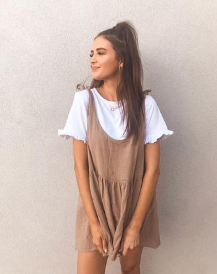 Summer dress – casual fall outfit, winter outfit, style, outfit inspiration, millennial fashion, street style, boho, vintage, grunge, casual, indie, u…