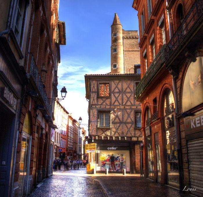 Toulouse - rue Saint Rome - Haute-Garonne
