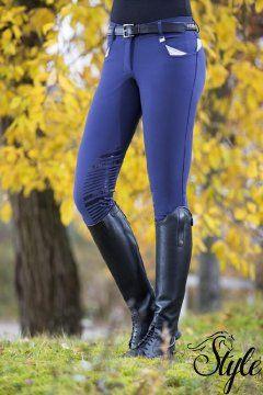 HKM szilikon térdfoltos női lovaglónadrág Performance by Pro-Team