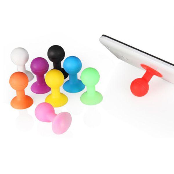 Резина осьминог присоски мяч стенд держатель для iPod для iPhone за Samsung для планшет шт мобильный телефон владельца аксессуары