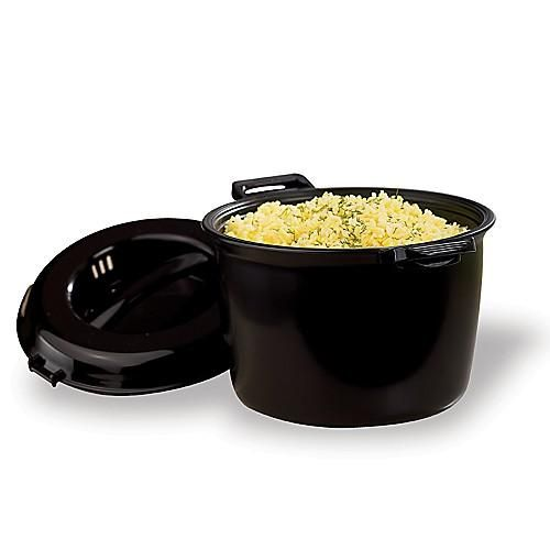 My favorite Pampered Chef product!  I have made rice pilaf, lava cake and vegetables in it!