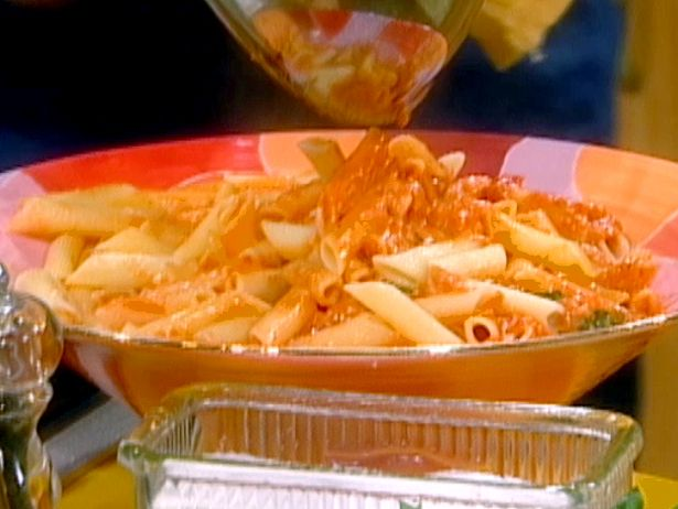 You Won't Be Single For Long Vodka Cream Pasta from FoodNetwork.com (this dish really is delicious, if not low cal)
