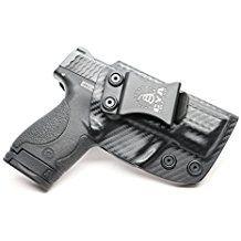 Amazon.com: CYA Supply Co. IWB Holster Fits: Smith & Wesson M&P Shield 9MM/.40 S&W - Veteran...