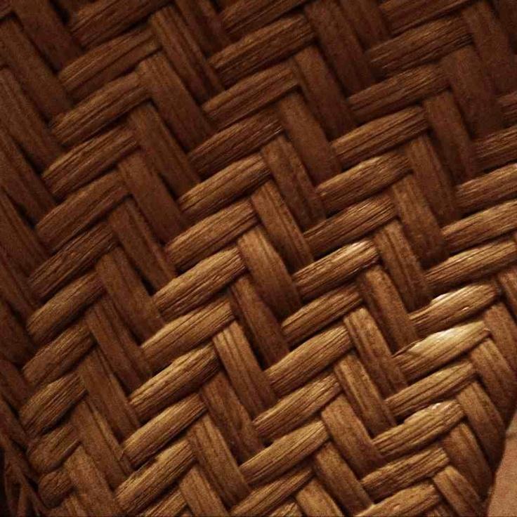 kunstmatige structuur gevlochten riet