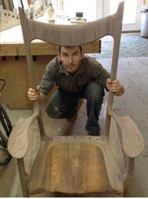 Paul Lemiski: Chairmaker And More - Woodworker's Journal eZine