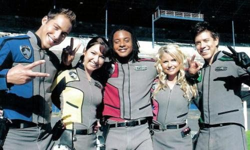 power rangers spd cast