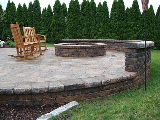 Raised Patio