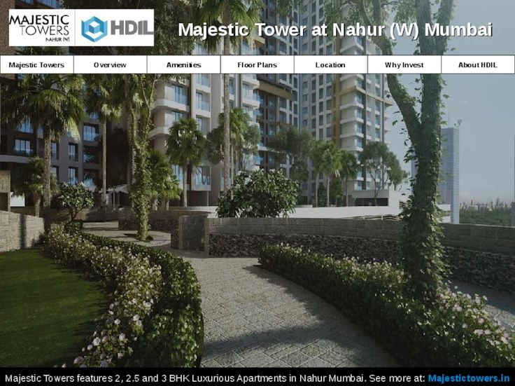 Residential Flats in Nahur Mumbai for Sale | Majestic Towers