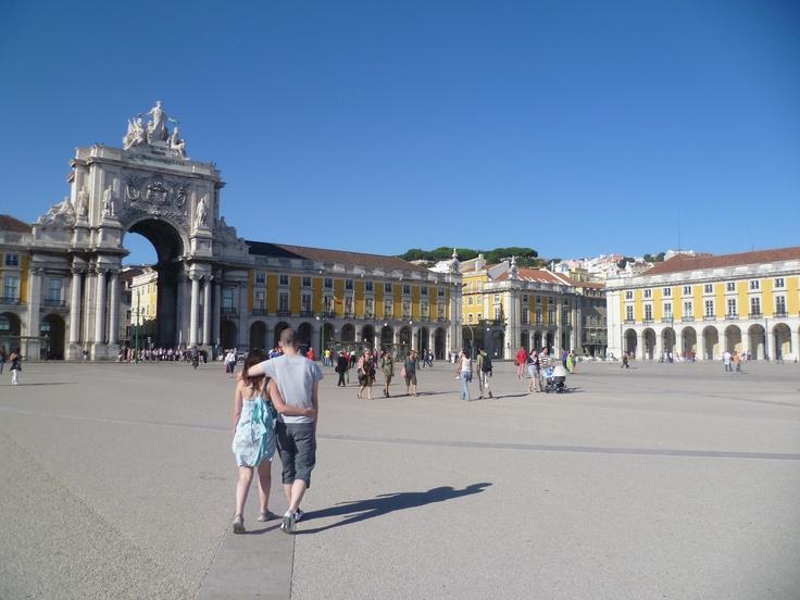 Still in Lisbon, Rossio Lisboa Square #Lisbon