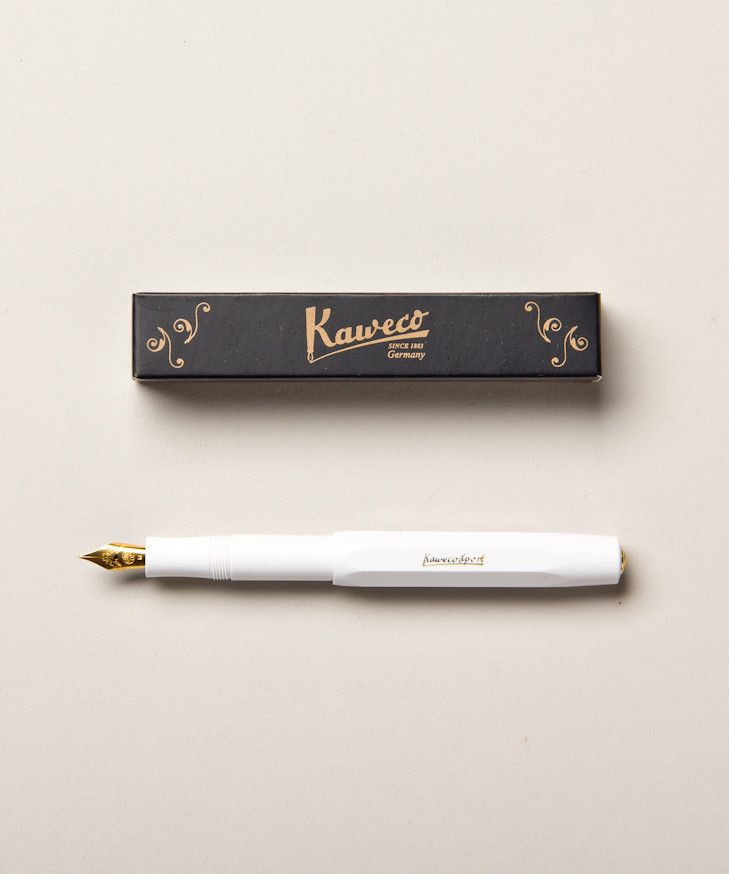 Sport Fountain Pen | $28 | holiday gifts under $45 | http://blog.shopdirtylaundry.com/posts/2013/11/29/holiday-gift-ideas-2013-gadgets.html